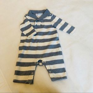 Janie & Jack boy romper long sleeve